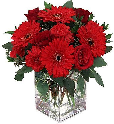 Romantic Red Arrangement