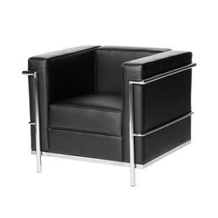 Leather Deco Club Chair - $200