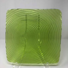 """GREEN - 9"""" Luncheon Plate $1.00/EA (SHOWN)"""
