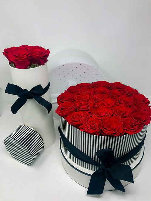 Boxed Forever Roses