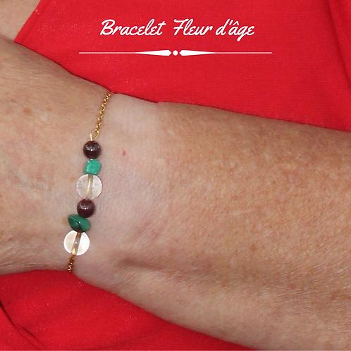 Bracelet Fleur d'âge