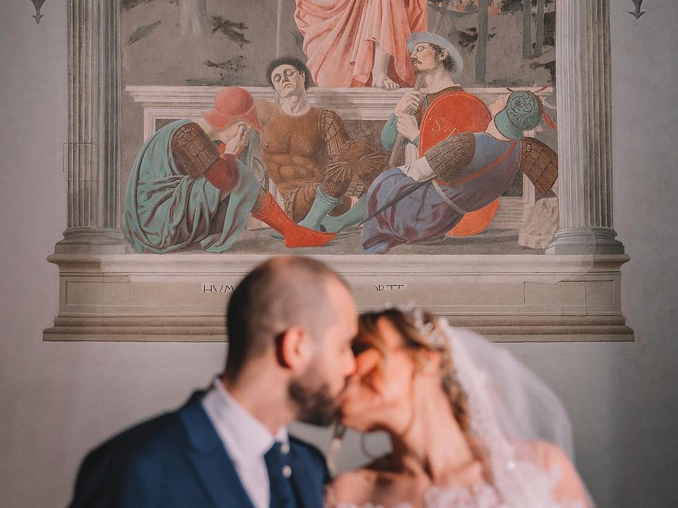 Cecilia e Pietro, Sansepolcro.