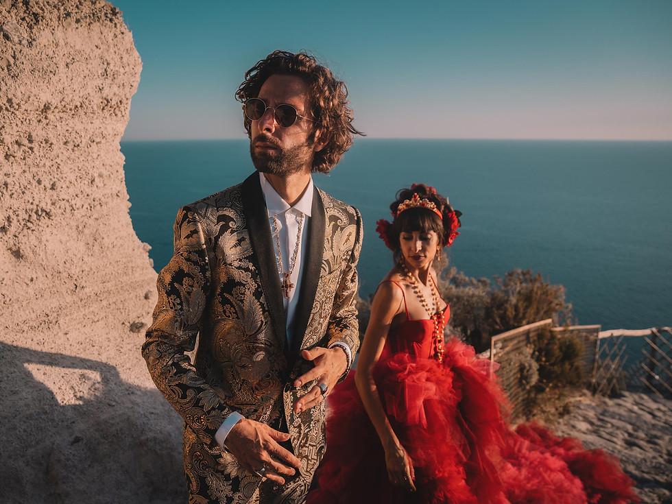 Stefania e Gianluca, Ischia.