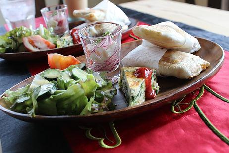 Cafe Shiranuiランチセット