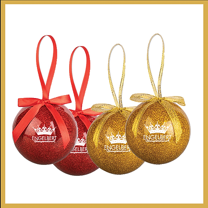 Ornament Set (Red/Gold)