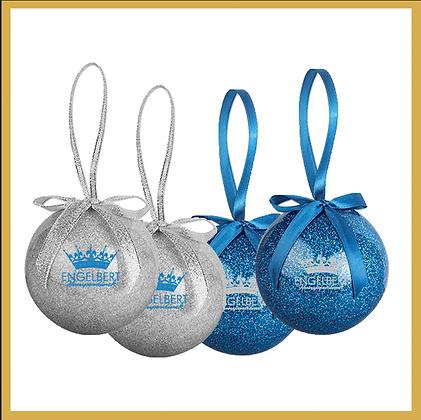 Ornament Set (Blue/Silver)