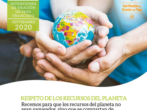 Mensaje del Papa Francisco para la Jornada Mundial de Oración por el Cuidado de la Creación