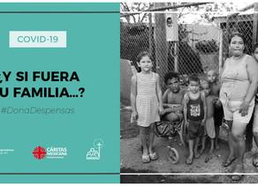 Cadena solidaria de alimentos y medicinas (COVID-19)