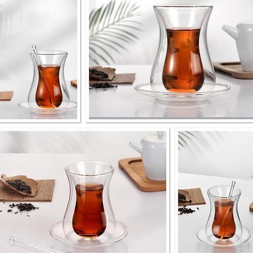 Service à thé double paroie