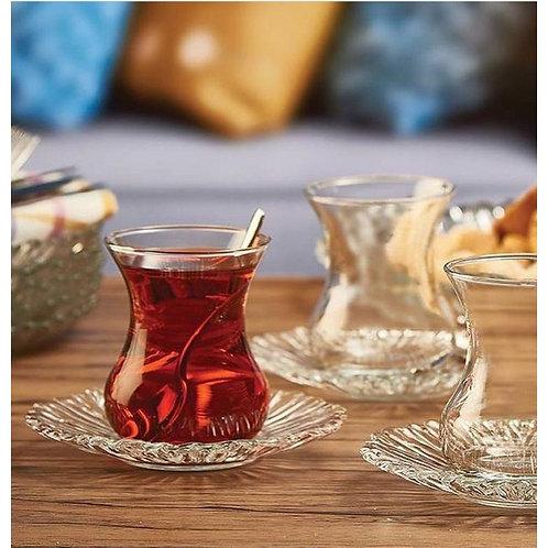 6 verres à thé AURORA