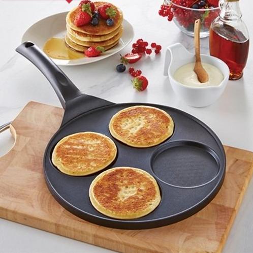 Poêle à 4 pancakes