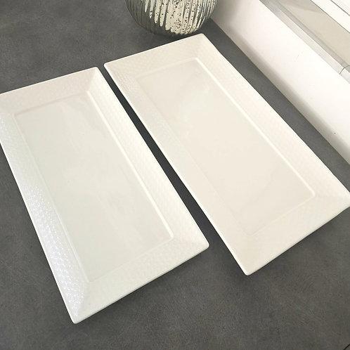 Assiette rectangle CELINE