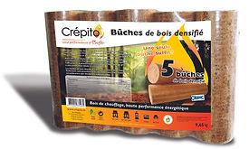 Livraison de bois densifié landes