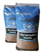 Vente granulés de bois EO2