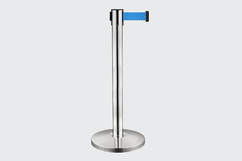 Barreira de Delimitação Cromada com 1 Fita Azul