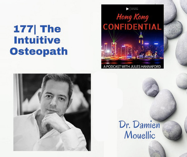 Hong Kong Confidential: Podcast interview with Damien Mouellic