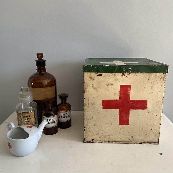 Vintage Boy Scout Camp Medical Tin