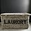 Thumbnail: Fantastic Vintage Wicker Laundry Trunk