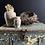 Thumbnail: Set of Two Vintage Stoneware Jars