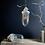 Thumbnail: Vintage Ceramic Top Russian Industrial Pendant Light #1