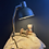 Thumbnail: Vintage Czechoslovakian Folding Field Lamp
