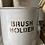 Thumbnail: Vintage Enamel Brush Holder c. 1930's