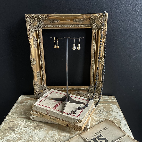 Art Deco Shop Display Earring Stand