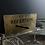 Thumbnail: Vintage Brass Reception Sign