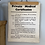 Thumbnail: Vintage Private Medical Certificate Notice