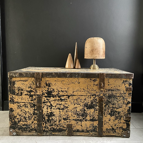 Heavy Vintage Trunk With a Stunning Patina