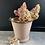 Thumbnail: Vintage Pink Enamel Bucket #3