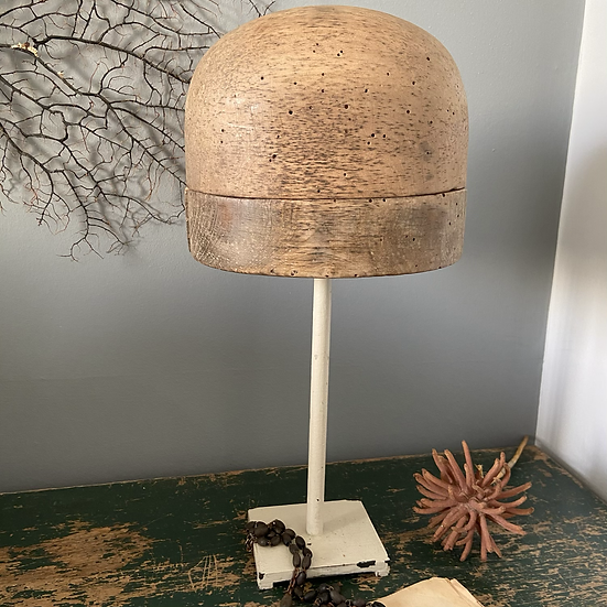 Milliners Hat Stand Hat Mould