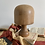 Thumbnail: French Wooden Hat Block on Fixed Stand