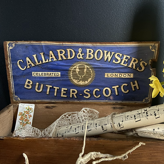 Vintage Callard and Bowsers Delivery and Display Box