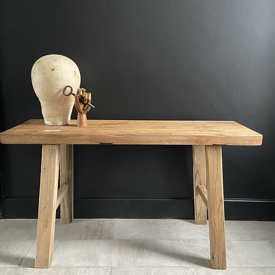 Rustic Elm Bench/Coffee Table #2
