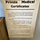 Thumbnail: Vintage 1965 Private Medical Certificates Sign