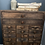 Thumbnail: Vintage French Lamp Makers Drawers #2