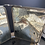 Thumbnail: French Boudoir Mirror. Decorated with Silk Depicting Cherubs