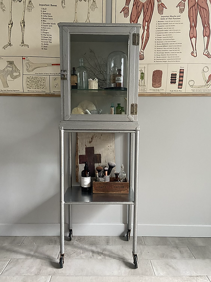 A Rare and Fabulous Medical Trolley Cabinet