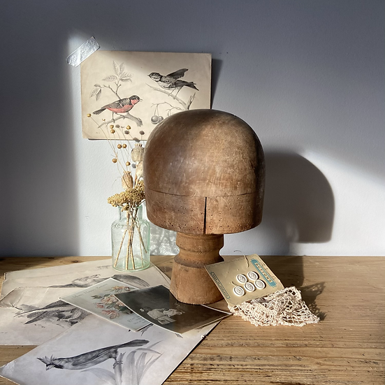 Gorgeous French Vintage Hat Mould/Stand