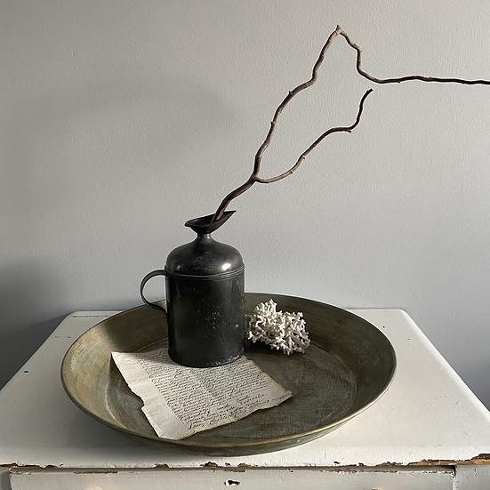 Galvanised Metal Bowl/Tray