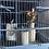 Thumbnail: Large Blue Decorative Vintage Bird Cage