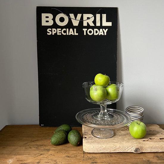 Vintage Bovril Advertising Blackboard Sign