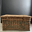 Thumbnail: Vintage Laundry Hamper with Unusual Typography
