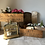 Thumbnail: Vintage Wooden French Milk Delivery Crate #2
