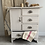 Thumbnail: Unusual Vintage Painted Cupboard/Chest of Drawers