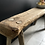 Thumbnail: Rustic Vintage English Oak Short Bench