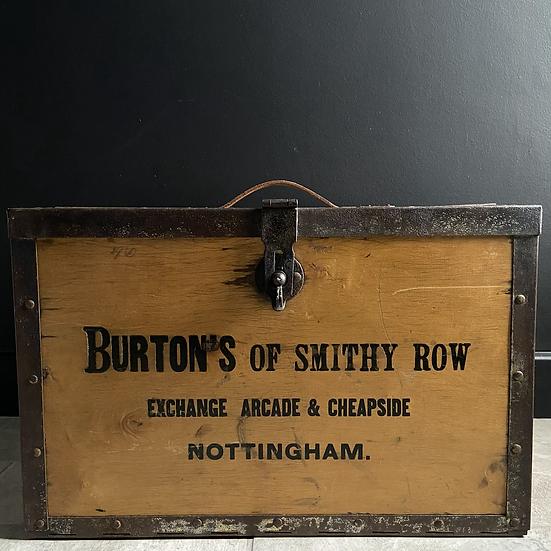 Rare Vintage Burton's of Nottingham Confectionery Transportation Case