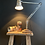 Thumbnail: Early 2 Step Herbert Terry Anglepoise Lamp