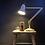 Thumbnail: Genuine Herbert Terry Two Step Cream Anglepoise Lamp
